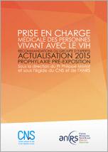 Actualisation 2015 - Prophylaxie pré-exposition (PrEP)