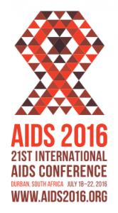 AIDS 2016 in Durban